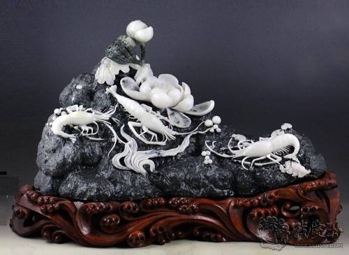 美玉赏析:玉石雕刻的美与韵