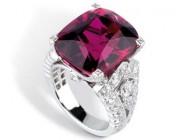 卡地亚红宝石戒指
