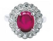 著名品牌红宝石戒指赏析