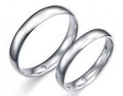注意好对铂金戒指的保养