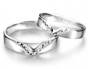 2013新款铂金戒指,见证爱情的矢志不渝