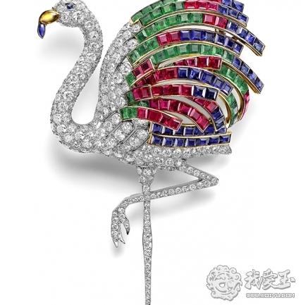 卡地亚奢华动物造型珠宝