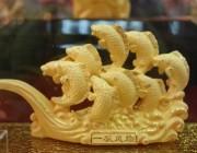 黄金工艺品在黄金产品所占有的比例已经逐渐增多
