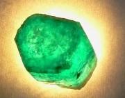 赏|惊艳的祖母绿原石