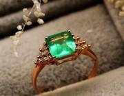 怎样保养祖母绿宝石戒指