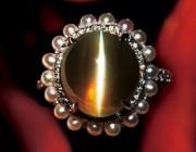 金绿宝石的品种之猫眼宝石