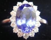 问答 | 戴妃款坦桑石戒指好看吗?