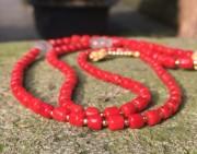 欣赏 | 红珊瑚搭配蜜蜡