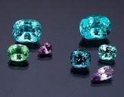 电气石知识:蓝碧玺的故事,以及猫眼、变色碧玺