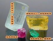 與金綠寶石易混淆的品類,金黃色綠柱石