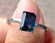 问答 | 这个蓝宝石戒指对吗?