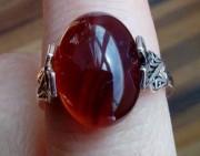 问答   这个血珀戒指好吗?