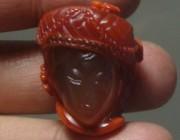 欣赏 | 南红雕刻的少数民族美人