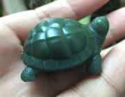 欣赏 | 青玉小乌龟的雕刻过程(多图)