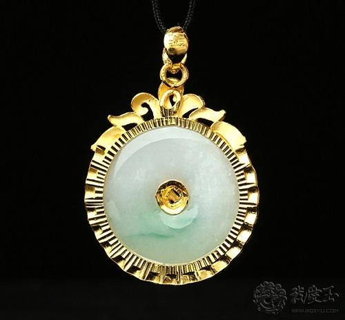 一般翡翠镶嵌可以使用什么样的贵金属?