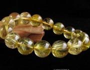 知识 |  能量超强的招财水晶------金发晶
