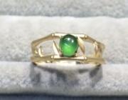 欣赏 | 新鲜出炉竹节翡翠戒指一枚