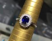 问答丨 这块有烧的蓝宝石戒指这个价格合适吗