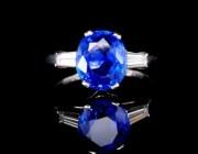 欣赏 |  变色蓝宝石戒指,挺有意思