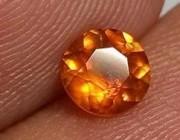 欣赏 |好美的芬达色石榴石!