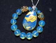 知識 | 當珠寶遇上文玩-分享一些好看的藍珀和文玩珠子美美的搭配例子吧