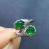 有福气满绿戒指