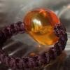 ·欧洲回流老蜜蜡原矿无优化纯天然波罗的海琥珀纯手编戒指