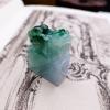 【凰上凰】细腻满蓝水绿招财貔貅印章