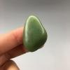 《大白菜》新疆和田玉苹果绿碧玉籽料原石11.4克挂件料/吊坠料