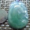 老坑冰甜绿全胶感起荧光饱满招财如...