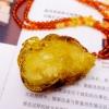 【凰上凰】纯天然琥珀蜜蜡挂件无优化波罗的海金包蜜龙吊坠