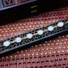 【凰上凰】天然和田白玉女士手链18K镶嵌珠圆玉润优雅精致款