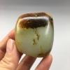 《大白菜》新疆和田玉老鹿皮白玉籽料原石125克把件料/雕刻料
