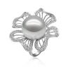 18K 日本白色Akoya海水珍珠戒指 ——DD轻奢新世纪