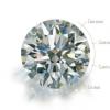 DD钻戒定制GIA裸钻定制30分50分1克拉钻石戒指婚戒求婚钻戒圆钻预定