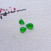 冰种阳绿小水滴3个 自己加工 小...