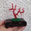 日本阿卡红珊瑚树摆件 整树无拼接 品相完整 枝形很美 投资收藏