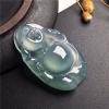 翡翠冰种带底色布袋佛6880元,微信:lanyu565