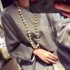 高贵奢华金珠项链