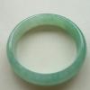 【康辉翡翠】-老种甜绿翡翠正装手镯56.6mm
