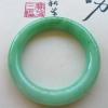 【康辉翡翠】-老种阳绿翡翠圆条手镯55.5mm