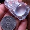 新货      1120翡翠A货细腻老坑玻璃种大站佛吊坠