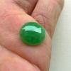 缅甸A货翡翠~F112010满绿蛋面